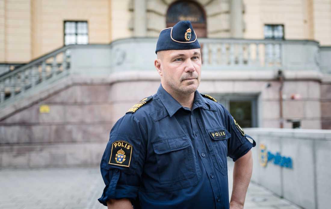Ulf Johansson, regionpolischef.