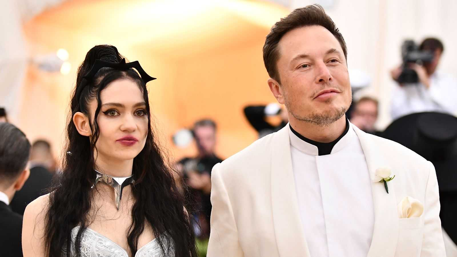 Elon Musk och Grimes sons namn är inte godkänt enligt lag