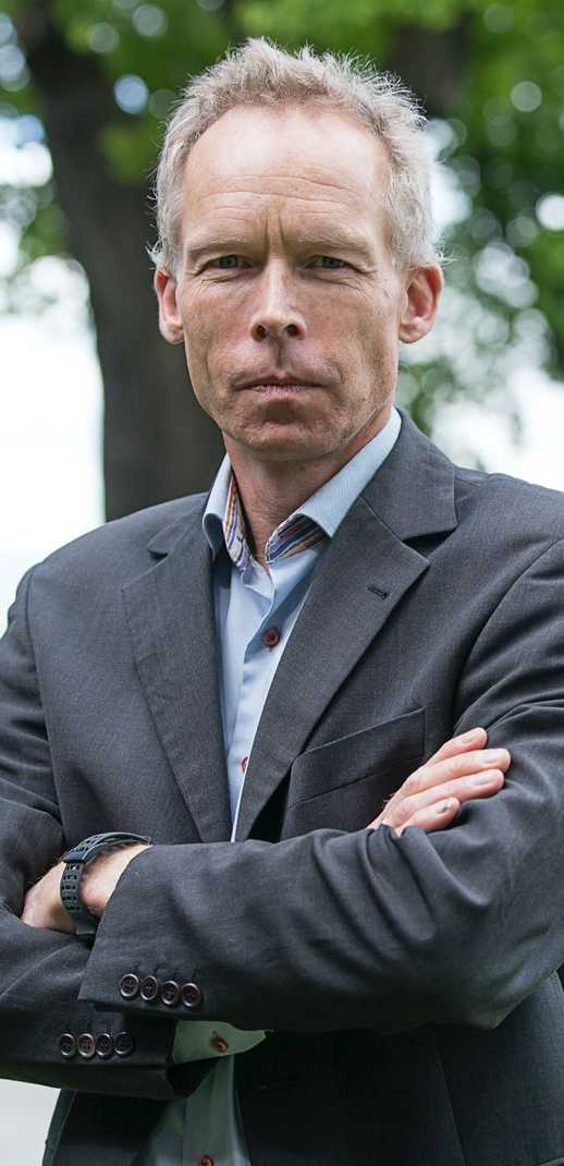 Professor Johan Rockström.