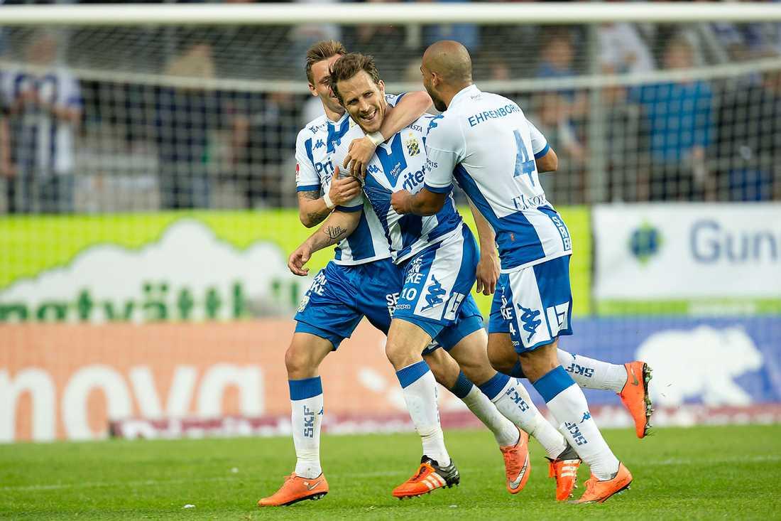 IFK Göteborg har jätteläge i Europa League-kvalet.