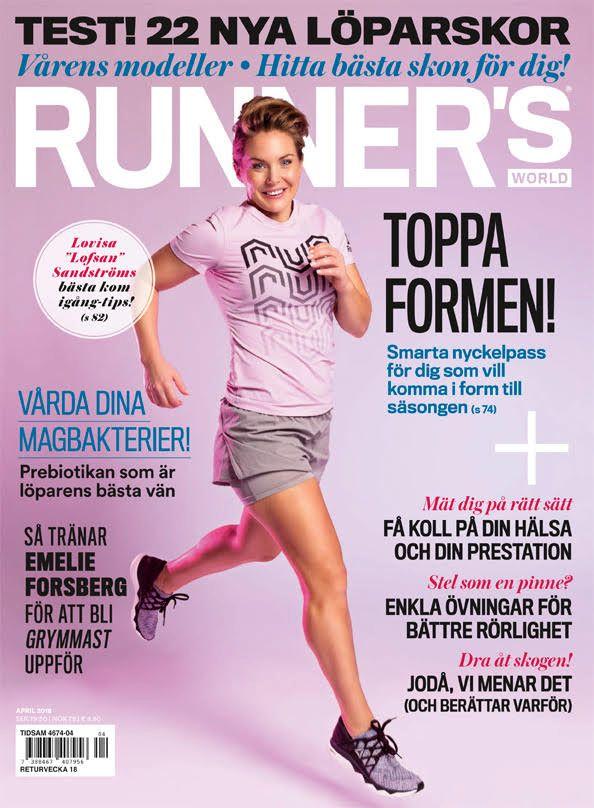 Hela skotestet – med 22 löparskor – finns i aprilnumret av Runner s World. c18f989650681