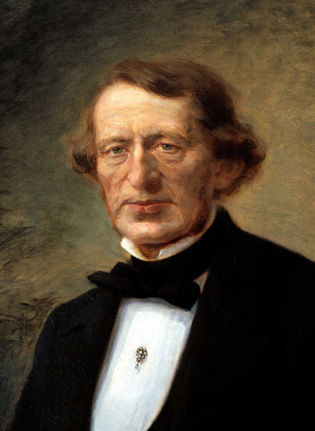 Aftonbladets grundare Lars Johan Hierta.