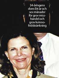 Kvinnomisshandlare Drottning Silvia träffade den dömda mannen i Thailand.