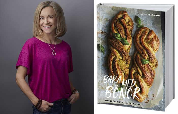 """""""Jag ville lura i barnen mer grönt"""", säger Lina Wallentinson och så föddes idén till boken """"Baka med bönor""""."""