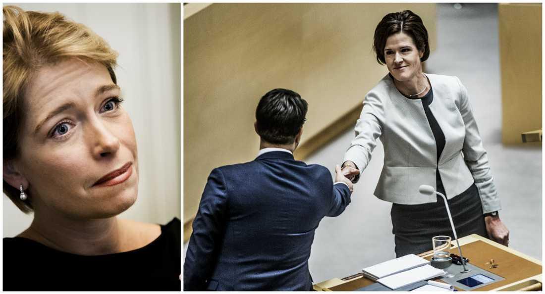 Annika Strandhäll (S) skriver: Det är möjligen för sent att hoppas att Anna Kinberg Batra själv ska stänga den dörr som hon har öppnat. Men det är inte för sent för landets alla moderater att se vad SD står för och tala klarspråk.