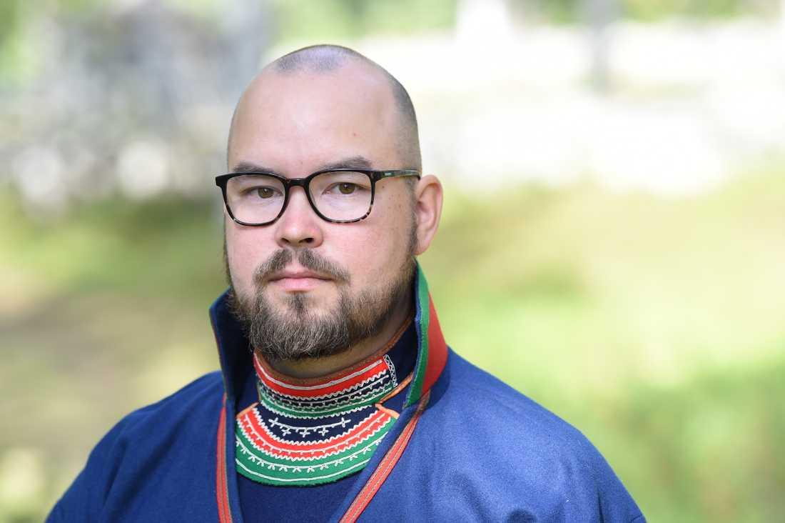 Paulus Kuoljok, Sametingets ordförande.