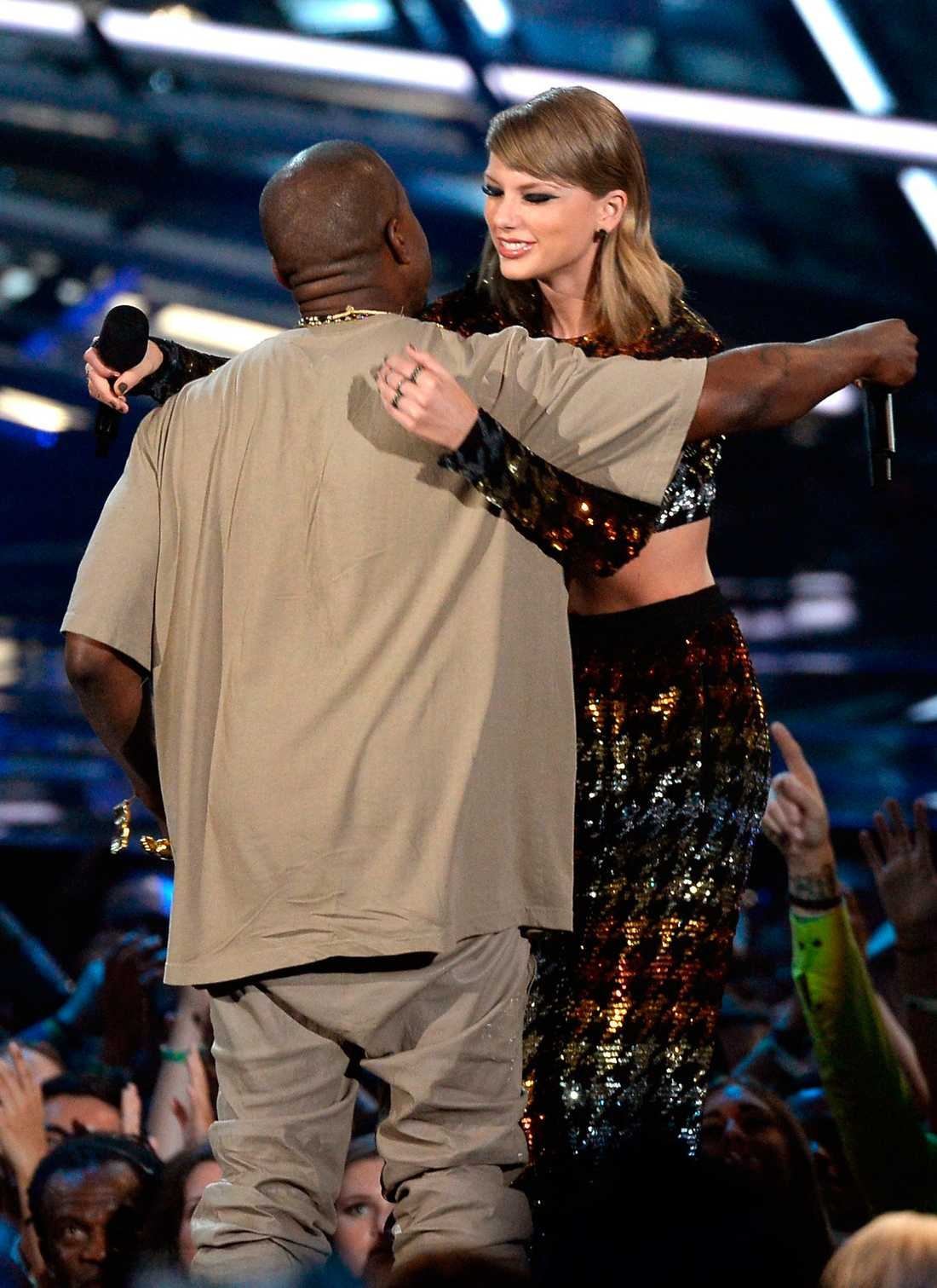 Kanye West och Taylor Swift.