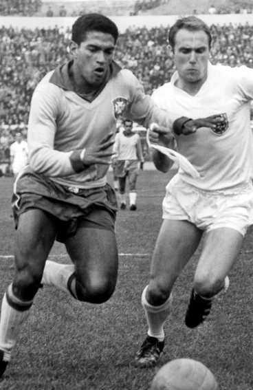 ...och guldmedaljör på nytt, i Chile 1962.