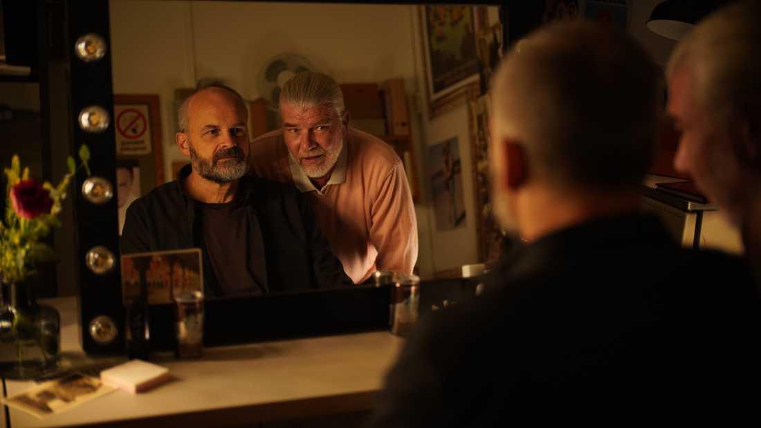 """Johan Rheborg och Jakob Eklund i """"En komikers uppväxt"""" som har världspremiär i Toronto."""