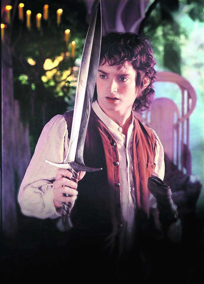 """Elijah Wood som Frodo i """"Sagan om ringen""""."""
