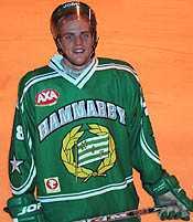 Martin Samuelsson är en av Hammarby Hockeys unga spelare som draftats av NHL-klubbar.