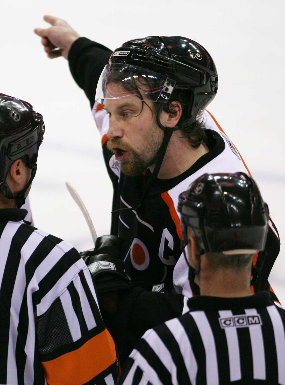 """Peter Forsberg, Philadelphia Flyers, 2006-2007 Kommentar: Många verkar ha glömt, men """"Foppa"""" var kung även under sin session i Flyers och såg som kapten till att forma det som långt senare blev ett potentiellt mästarlag."""