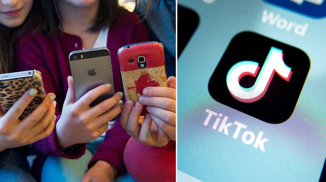 TikTok är en populär app bland barnen.