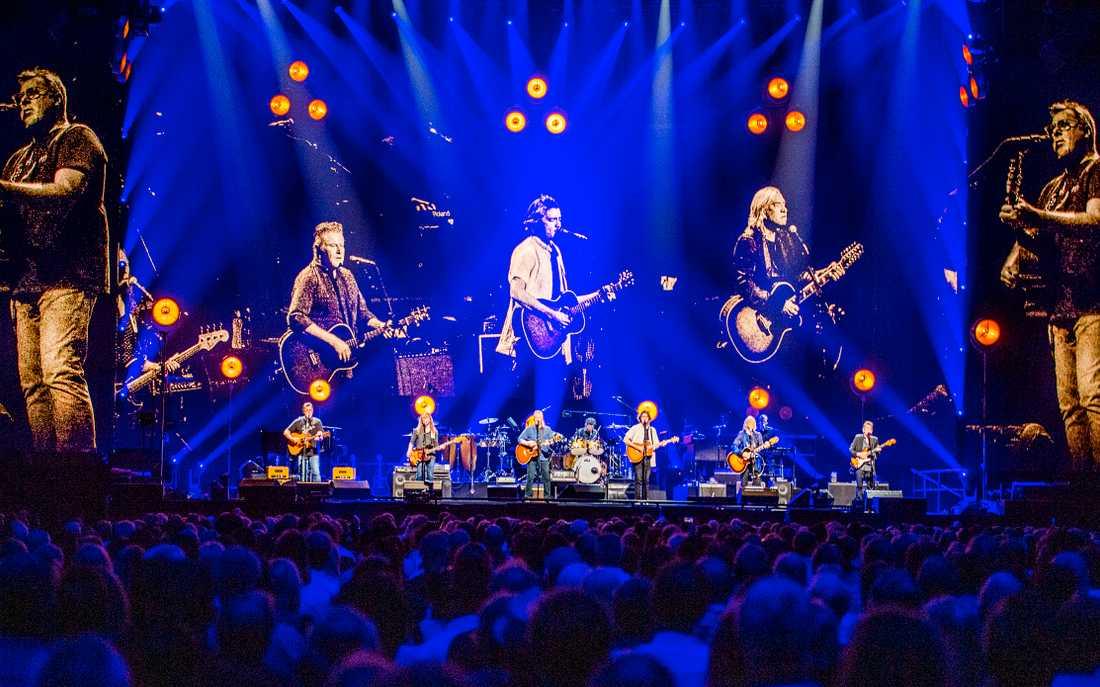 Eagles live på Tele 2 arena.