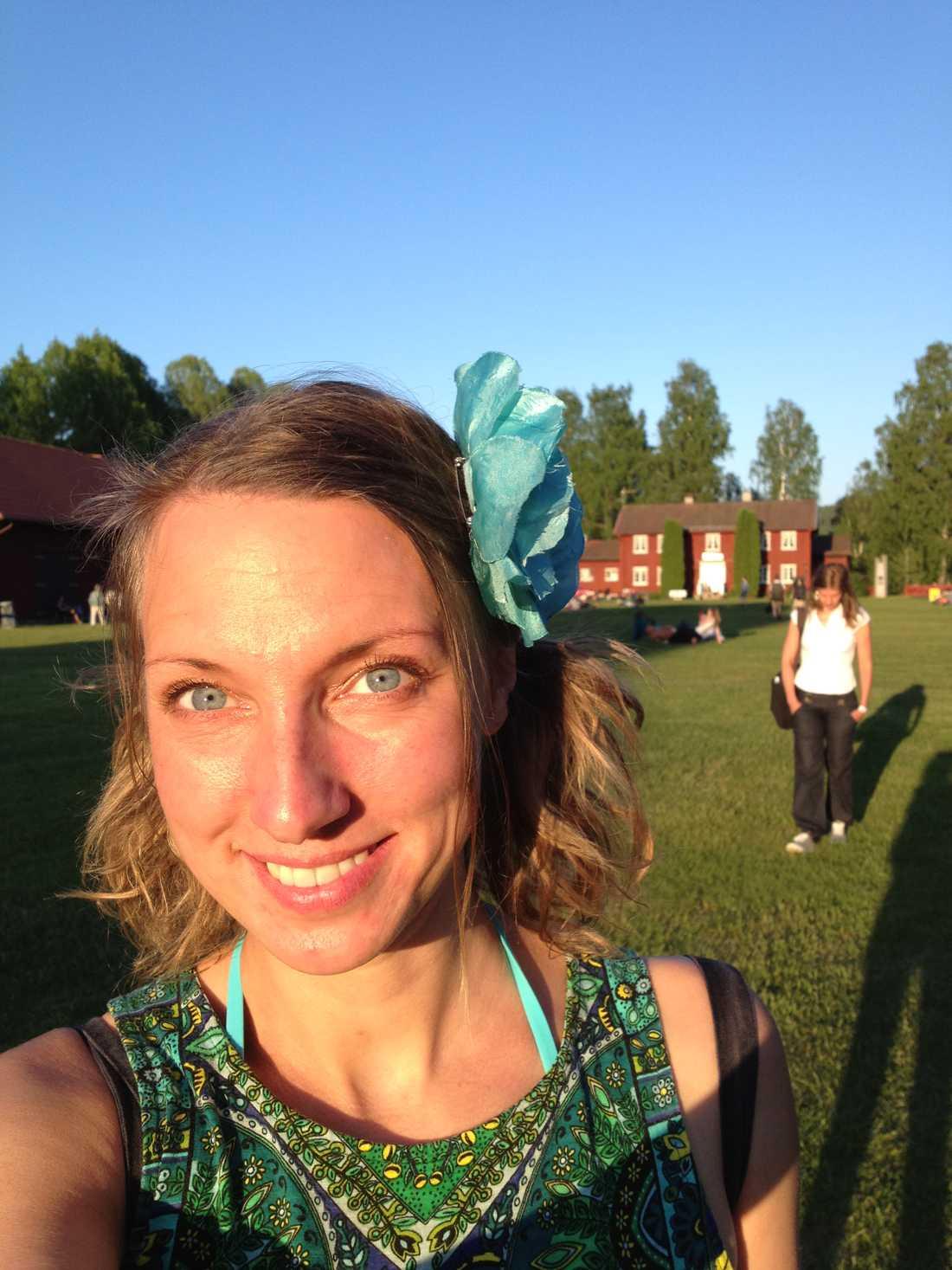 ROMANTISK EFTERLYSNING. Lisa Tegelmark, 36, har engagerat hela Sverige i sitt sökande efter den snygga killen i grön t-shirt som hon träffade på tunnelbanan under söndagskvällen.