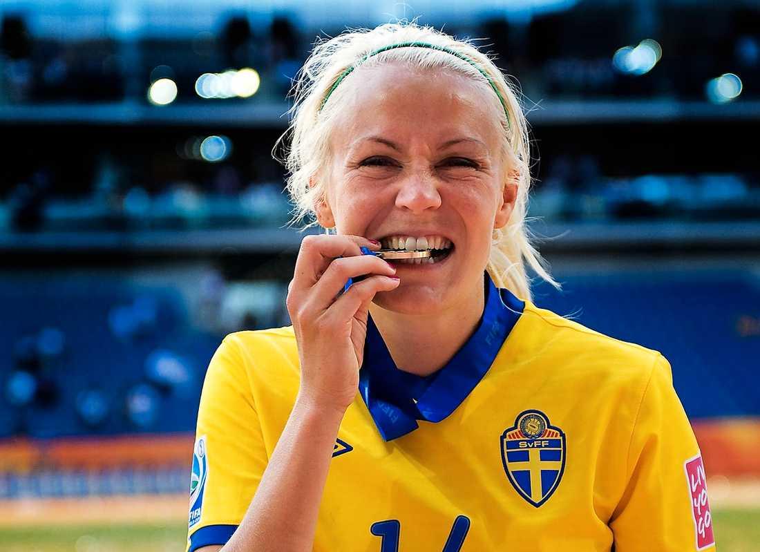 """Att """"Jossan"""" blev första svenska att visas ut i ett VM var inget bekymmer i går."""
