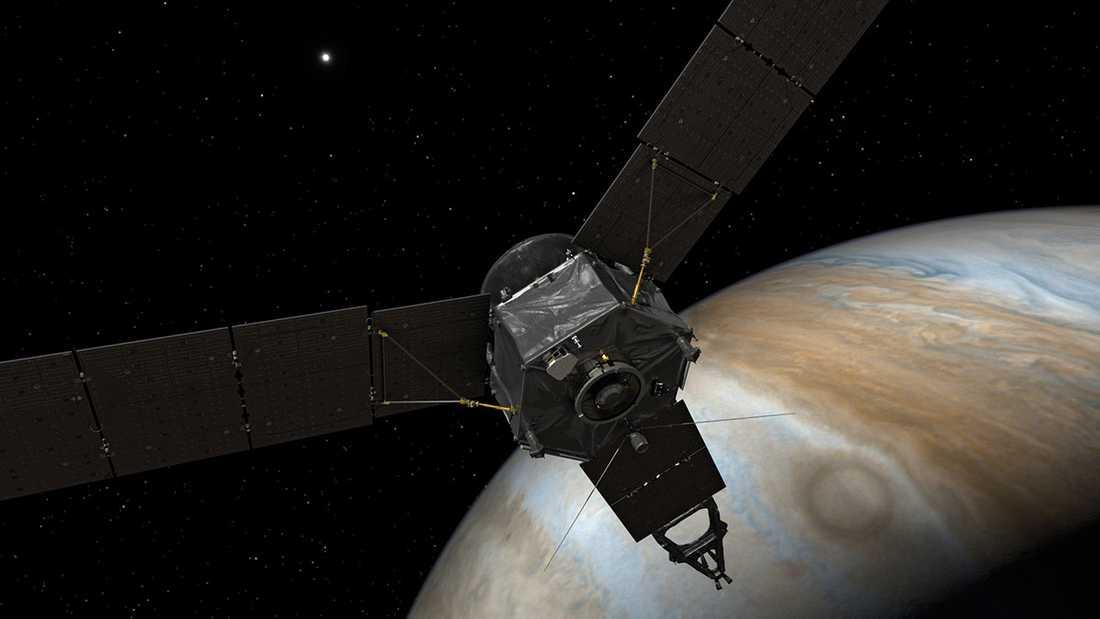 Rymdsonden Juno är tio gånger närmare än någon varit tidigare.