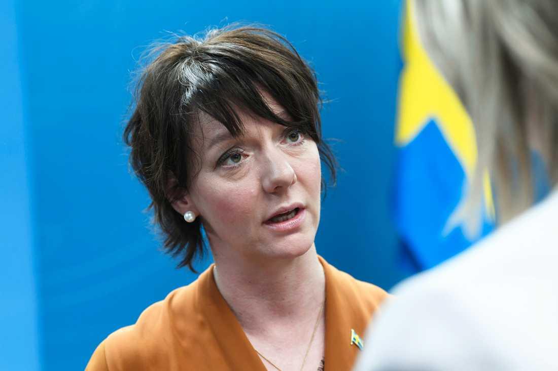 Matilda Ernkrans, minister för högre utbildning och forskning. Arkivbild.