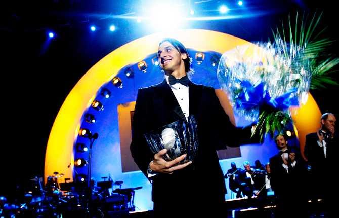 På Idrottsgalan 2008 fick Zlatan ta emot pris som årets manlige idrottare och Jerringpriset för hans insatser under 2007.