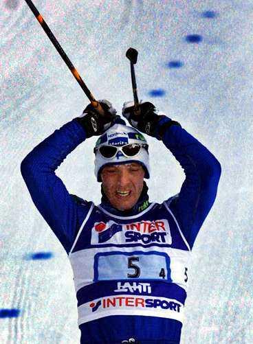 Mika Myllylä, en av de som svärtat ner finsk skidåkning.