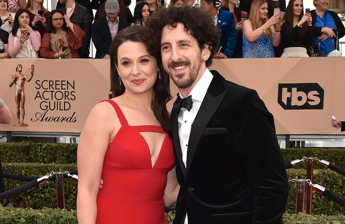 Katie Lowes och Adam Shapiro.