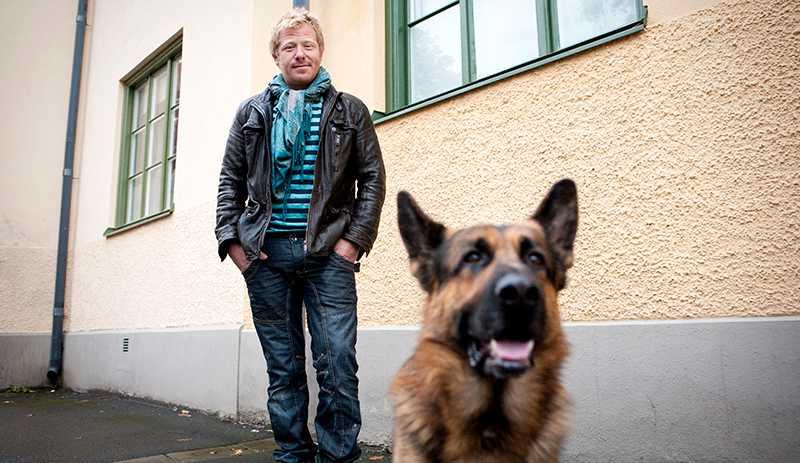 Fredrik Steen, hundcoach.