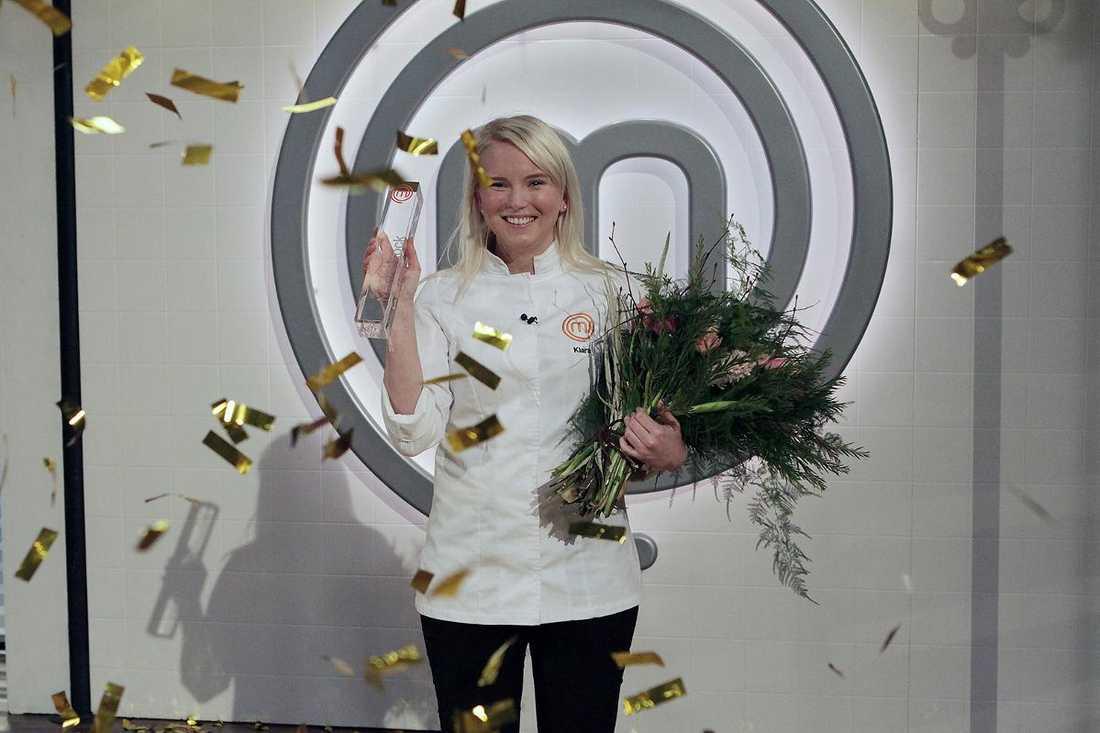Årets mästerkock, Klara Lind, väntar sitt första barn.