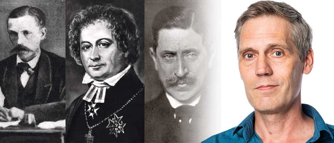 Viktor Rydberg, Esaias Tegnér och Verner von Heidenstam