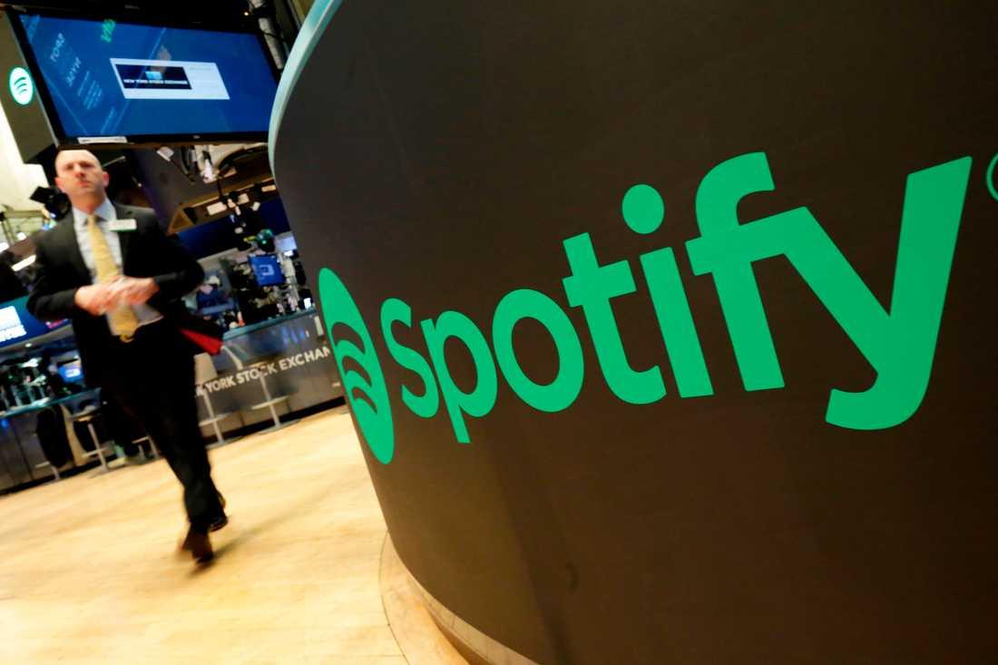 Spotify-aktien rasade i höstas, men har börjat återhämta sig under 2019. Arkivbild