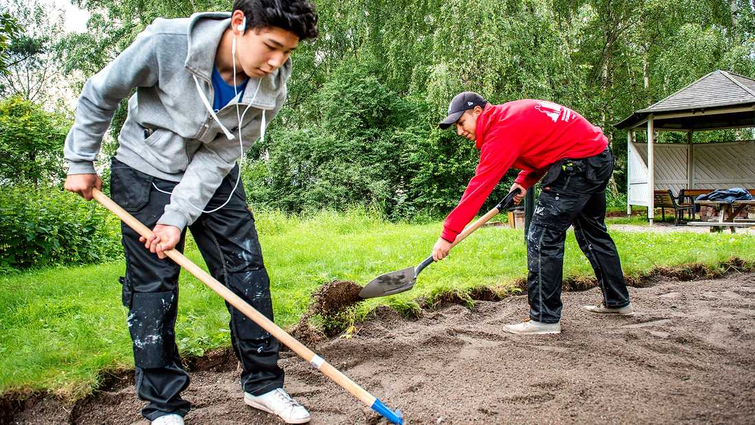 Ungdomar med tillfälligt uppehållstillstånd har bara sex månader på sig att hitta jobb.