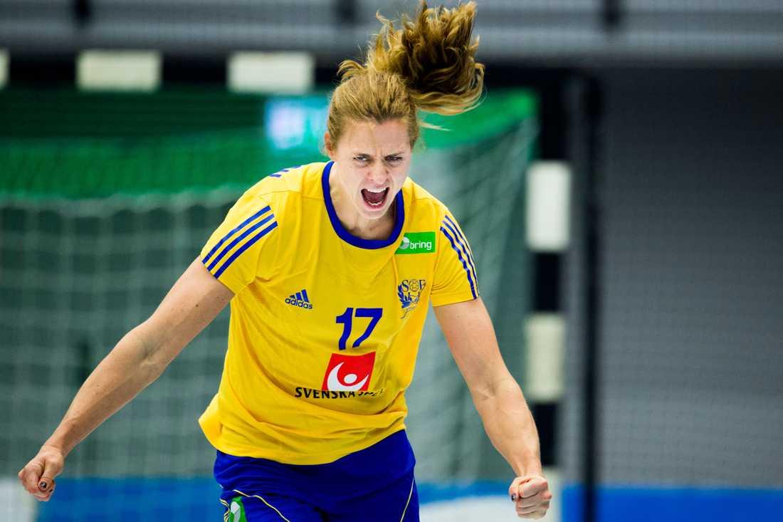 Linnéa Torstensson Ålder: 31. Position: Mittnia. Klubb: CSM Bucuresti.
