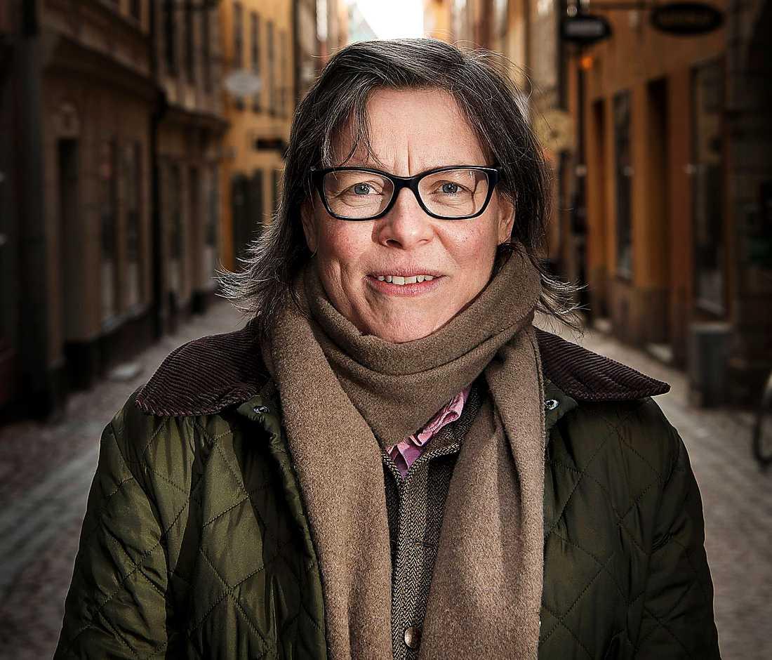 """Författaren Lena Andersson (född 1970) har tidigare tilldelats Augustpriset för romanen """"Egenmäktigt förfarande""""."""