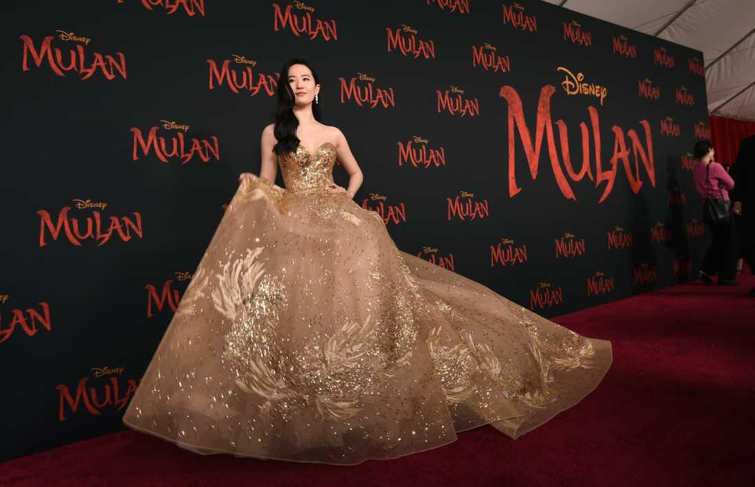 "Yifei Liu har huvudrollen i ""Mulan"". Arkivbild."