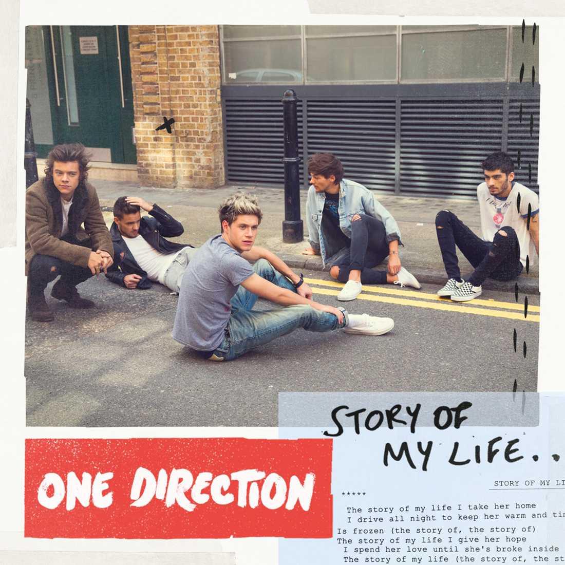 One Directions omslag till nya singeln.