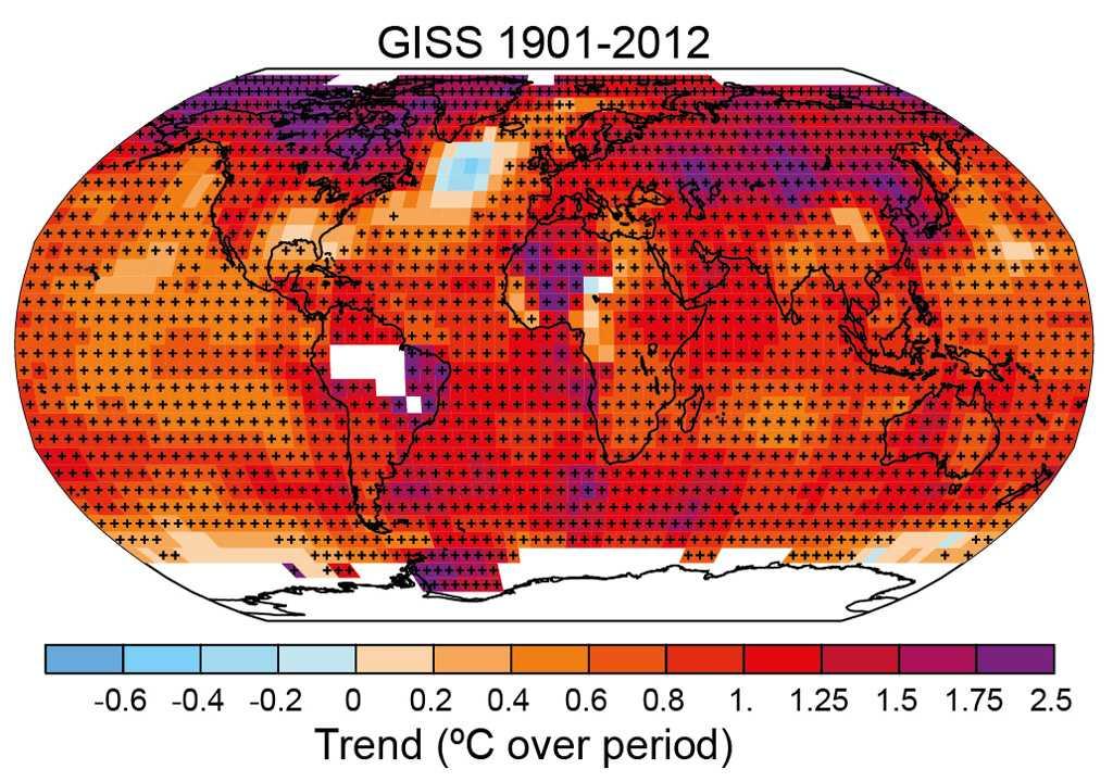 I norra Atlanten finns en plats som tvärtemot stora delar av jordklotet har minskad medeltemperatur.