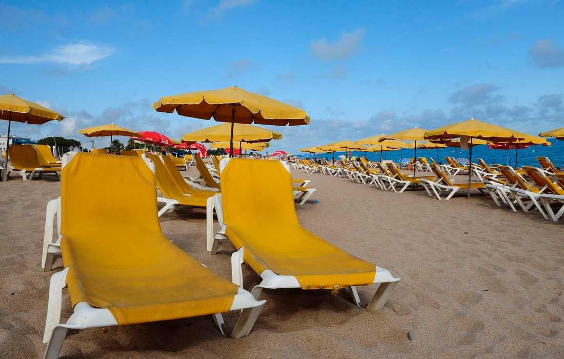 Många turister reser årligen till den spanska ön Mallorca i Medelhavet för att ta del av de många stränderna. Arkivbild.