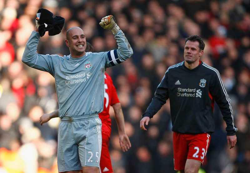 Pepe Reina lämnar Liverpool.
