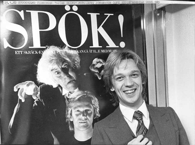 Björn Skifs 1982.