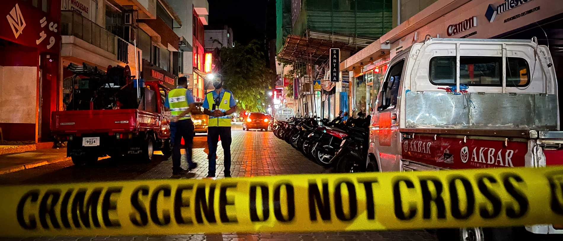 Maldivernas expresident skadad i bombdåd
