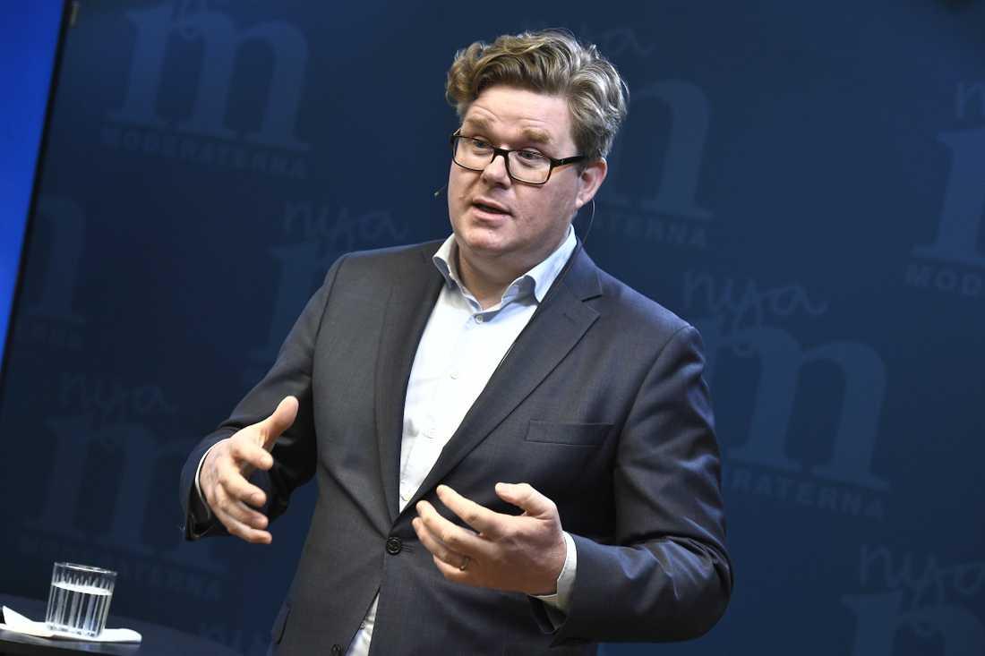 Moderaternas partisekreterare Gunnar Strömmer.