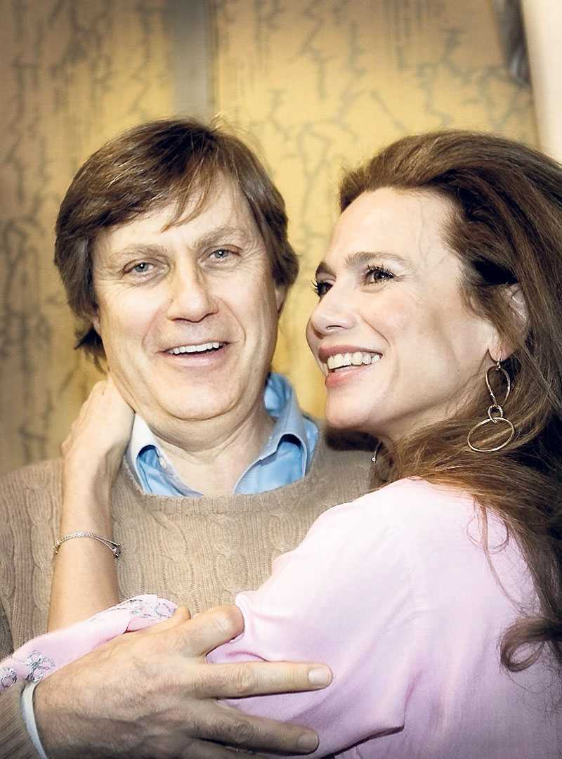 Lasse Hallström och Lena Olin flyttar tillbaka till Sverige – efter 13 år i Hollywood. Foto: PETER WIXTRÖM