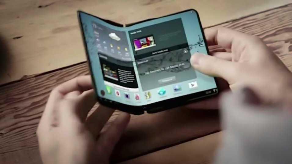 Samsung tros avtäcka sin vikbara telefon redan 7 eller 8 november 2018.