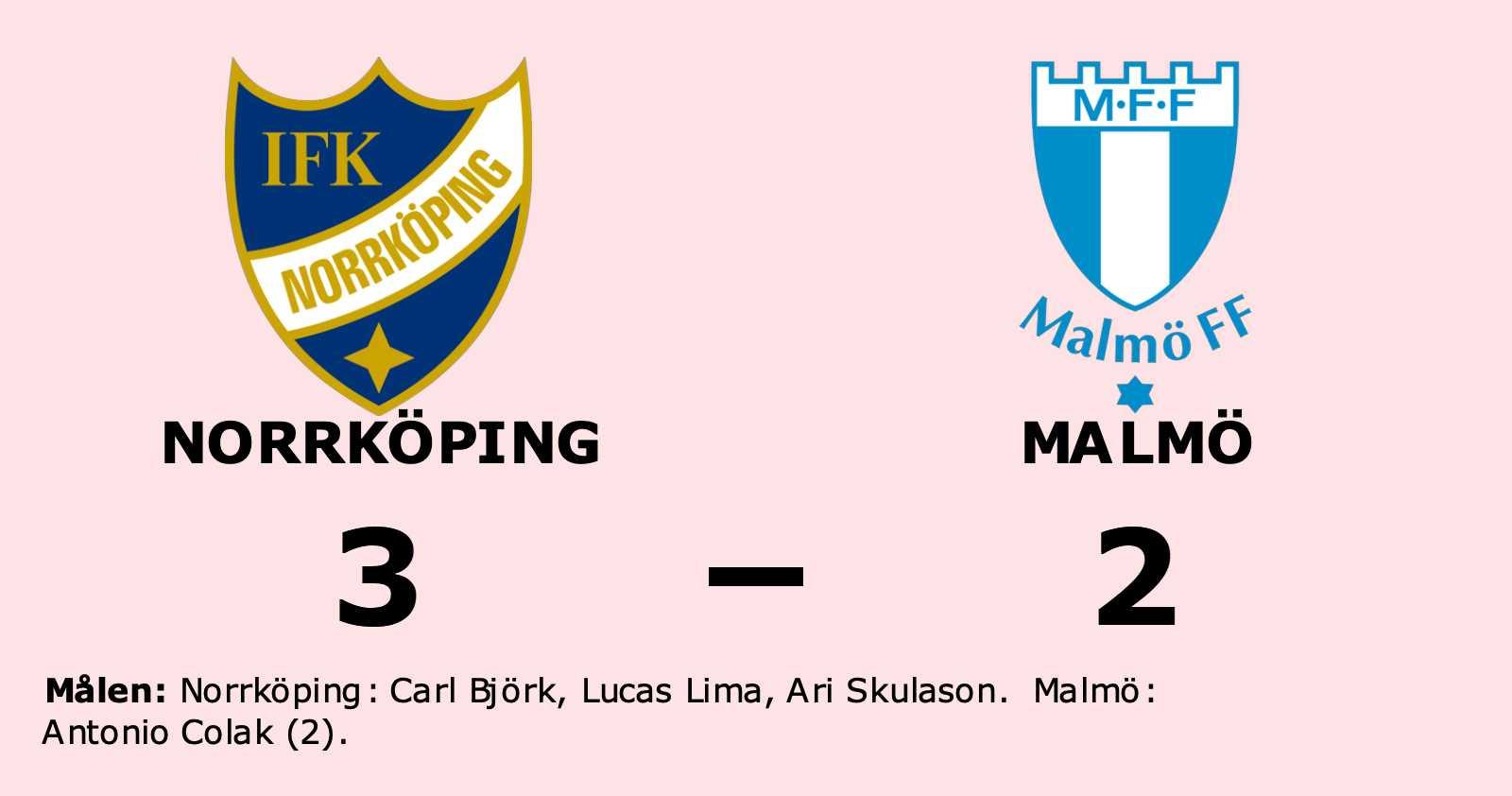 Norrköping vann efter målfest
