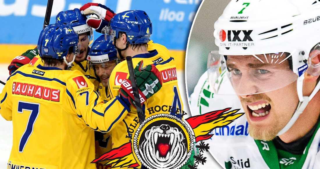 Patrik Cehlin spelade VM för tre kronor i fjol