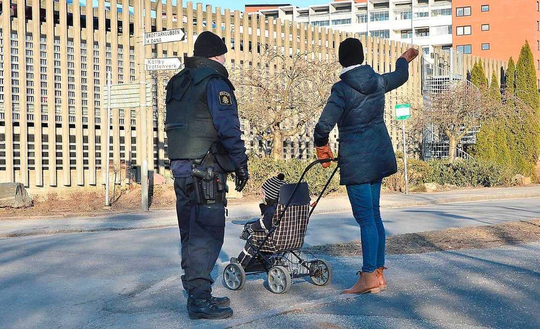 Allmänheten i Lund var orolig.