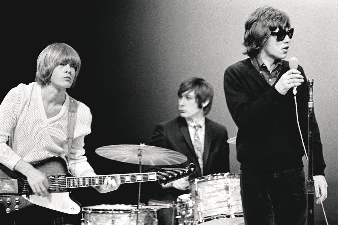 The Rolling Stones med Brian Jones.