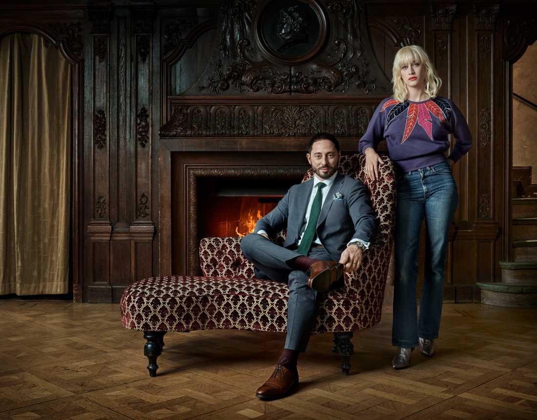 """Matias Varela och Julia Ragnarsson i """"Fartblinda""""."""