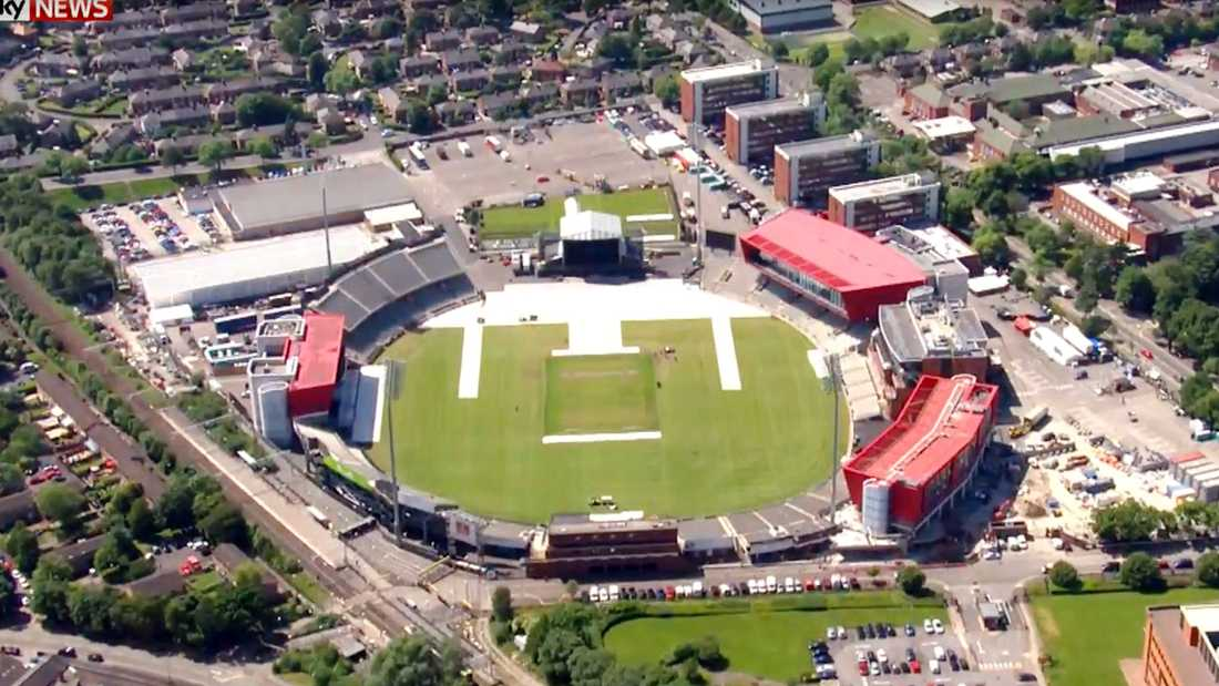 Cricketarenan Emirates Old Trafford.
