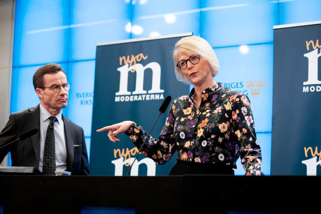 """""""Vi har gjort viktiga prioriteringar"""", säger Elisabeth Svantesson."""