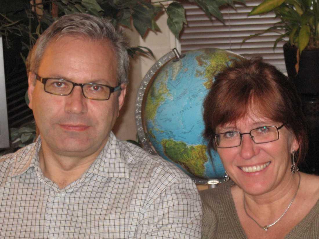 Rune och Eva-Marie Brännström från Linköping får ingen ersättning från Ryanair som ställde in deras flyg.